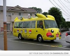 The Pokemon bus.