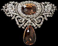 :  Topaz, rock crystal