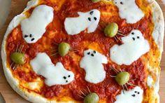 Pizza on Halloween design Ideas