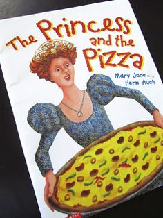 Pinning with Purpose: The Princess and the Pizza Preschool Lesson