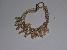 Gold plate Owl charm bracelet by PatsapearlsBoutique on Etsy, $4.99