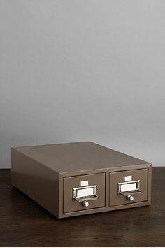 One-Of-A-Kind Vintage Office Filing Cabinet