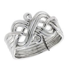 celtic knot puzzle ring...I want one I think these are so neat with a crazy story behind them.