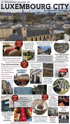 Luxembourg Travel Guide - everything you need to know about traveling in Luxembourg City - where to stay, eat and play. #Luxembourg #Luxembourgcity #travelguide
