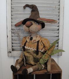 Brenda Jett Sanker Primitive Folk Art Dolls: EPatterns