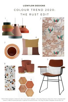 The Inspo Files are back and this time I'm diving in deep with colour of the moment that cosy, warm and contemporary Rust (also known as Terracotta). Modern, refined and dare I say sexy? Rust Color, Colour, Mid-century Modern, Contemporary, Mid Century Modern Kitchen, Color Trends, Home Kitchens, I Shop, New Homes
