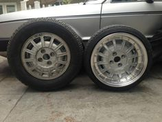 "13"" one-piece Scirocco wheel turned into a 15"" three piece wheel."
