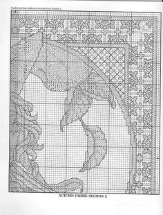 Autumn Fairie - 3/6 Solo Patrones Punto Cruz (pág. 404) | Aprender manualidades es facilisimo.com