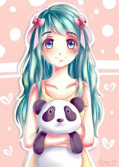 black and white anime girl crying Panda Anime Girl, Anime Girl Crying, Black And White, Art, Black White, Art Background, Black N White, Kunst, Gcse Art