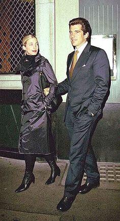 John & Caroline Kennedy~ May 15, 1997 – FAI Foundation Gala in Milan