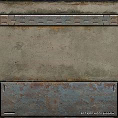 Sci Fi Wall Texture