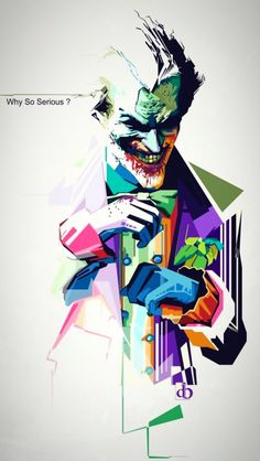Why So Serious By Denny Bangke Via Behance