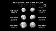 "Pluto probe uncovers mysterious 'dark pole' on big moon Charon - NASA's New Horizons spacecraft has spotted a strange dark patch at the pole of Pluto's big moon Charon, further whetting researchers' appetites ahead of the probe's epic flyby of the dwarf planet system next month. New Horizons has also detected a rich diversity of terrain types in Pluto's ""close approach hemisphere"" - the side of the planet New Horizons will zoom past at a distance of just 7,800 miles on July 14."
