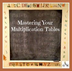 Classical Conversations® students - apply the skip counting songs to your child's learning the multiplication tables!