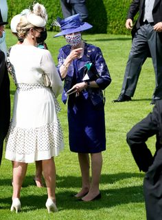 Andrew Matthews, Timothy Laurence, Princess Anne, Purple Reign, Royal Ascot, British Royals, Put On, Lace Skirt, Royalty