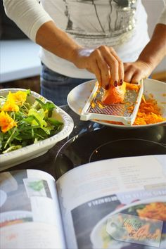 Kürbispuffer mit Gorgonzola