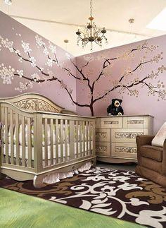 Cloe Rug in this Bel Bambi Nursery