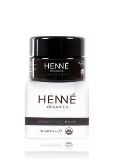 Henne Organics Luxury Lip Balm