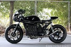 BMW バイク K100RSのカフェレーサーカスタム