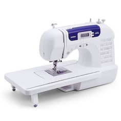 Brother CS-6000i 60-Stitch Computerized Sewing Machine with Wide Table  $149 Overstock.com