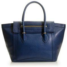 "Love the color of the bag - I ""really"" need a blue handbag :)"