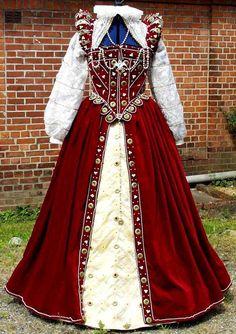 Costume Renaissance, Renaissance Clothing, Renaissance Fashion, Medieval Gown, Elizabethan Dress, Tudor Fashion, Steampunk Fashion, Gothic Fashion, Tudor Costumes