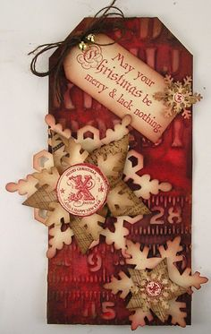 Tag ~ Cristmas Suzzs Stamping Spot: Be Merry