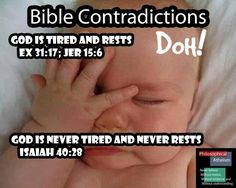 And they said bible is word of god .... :D