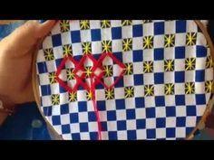 - 19 bordado español con cony - YouTube