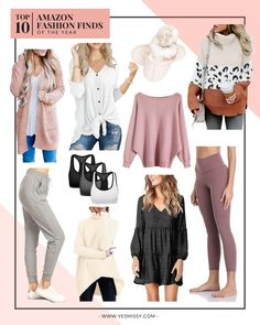 Top 10 Amazon Fashion Finds of the year! The top rated women's clothes on Amazon that are all under $25!
