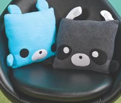 Animal Pillows by HermososOjos on Etsy, $30.00