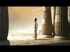 Akhenaton & Nefertiti I just love the portrayal of the 2 in this simple animation fact or not.