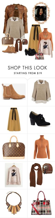 """""""conley_esperanzaj-brownshuga"""" by conley-esperanzaj1957 on Polyvore featuring VIPARO, Superdry, See by Chloé, Temperley London, Lands' End, Louis Vuitton, Bling Jewelry and Diophy"""