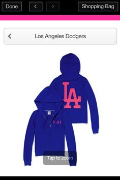 50c12987db2 Dodgers sweater from Victoria secret!