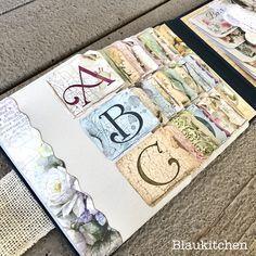 Libreta Flower Alphabet – La Tienda de las Manualidades | Marina Blaukitchen