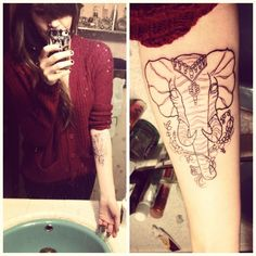 OP #thisjusthappened #elephant #tattoo