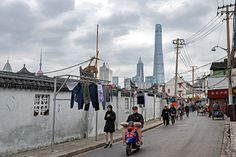 China Digital Tumblr  Back streets of Shanghai