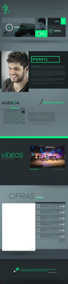 logo: love the rectangular logo a little ways down, also like some of the layouts and that pop of neon minty goodness