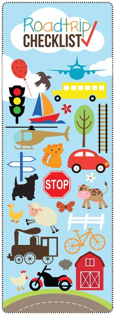 Roadtrip Printable for Kids