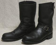"1970s ""Georgia"" ENGINEER BOOTS Riders Jacket, Engineer Boots, Biker Boots, 1970s, Georgia, Engineering, Footwear, Welding, Sneakers"