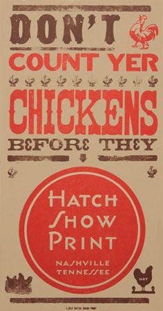 Going to frame some Hatch prints for a little taste of Nashville