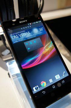 New XperiaZ - Sony #CES 2013