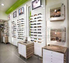 Optician's shop Royalty Free Stock Photo
