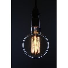 Oversized Vintage Bulb G150F2  Edison Bulb inspired by the original light bulb invented by Thomas Edison, these vintage-style bulbs create a unique ambient glow that's unparalleled by common incandescent bulbs. Made with a tungsten filament. Like the original. Best enjoyed with a lamp or pendant where the bulb is exposed. Antique Vintage Light Bulb 1 pack  60 watts 3000 Hours of life 160 Lumens E26/ Medium base Dimensions: 6x9…