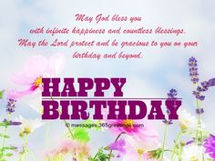 Christian Birthday Wishes Messages Greetings And