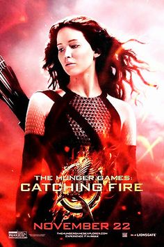 New Catching Fire poster! Katniss with her hair down.....well *that* is something you don't see often. I like it, though.
