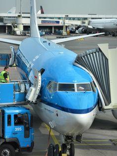 KLM Boeing 737 (Amsterdam - June, 2010)