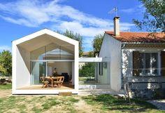 Ampliación modular de vivienda rural