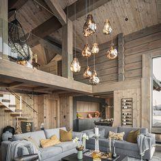 Rustic Modern Cabin, Modern Cabin Interior, Modern Barn House, Cottage Interiors, Wood Interiors, Cabin Design, House Design, Forest House, Design Blog