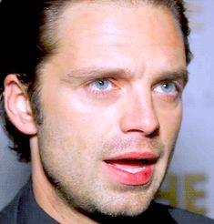 beautiful blue eyes Sebastian <3